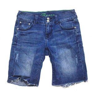Delia's Bermuda Denim Shorts
